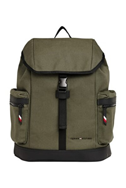 UTILITY CANVAS FLAP BACKPACK
