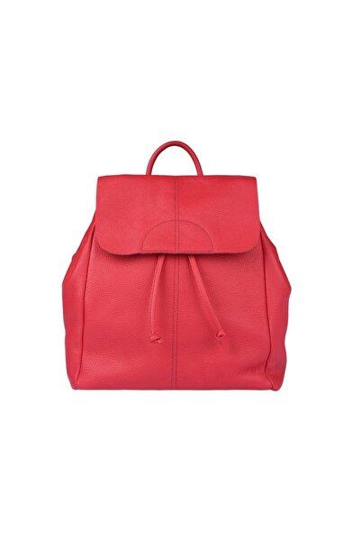 Guzini Kadın Deri Çanta 7501 Kırmızı
