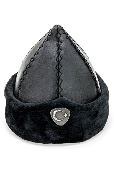İhvan Selçuklu Börk Şapkası Siyah - 2009 - 1180
