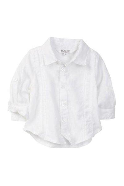 Kanz Erkek Çocuk Beyaz Gömlek 171-2913