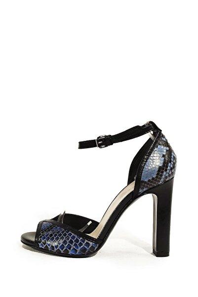 Nursace Hakiki Deri Klasik Topuklu Ayakkabı Nsc14y-42707