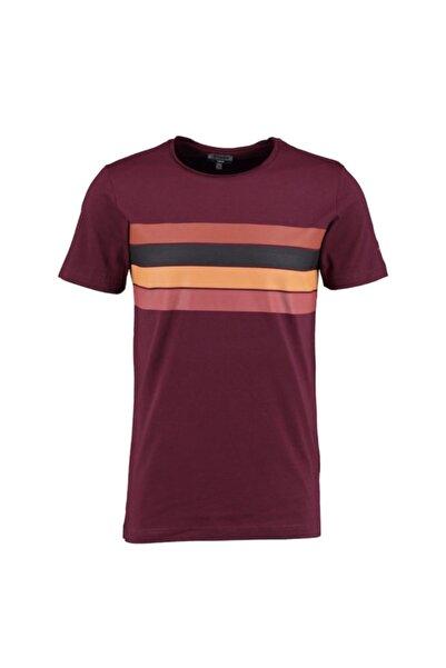 Sarar Erkek Bordo Sıfır Yaka T-shirt
