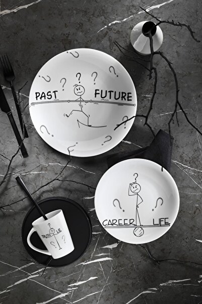 Kütahya Porselen Zeugma 03 Parça Genç Seti 10869