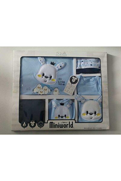Miniworld Bebek Mavi Hastane Çıkışı 10'lu Zıbın Seti