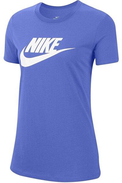 Nike Kadın Mor Kısa Kollu Tshirt