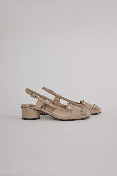 ALINA KOREN Kadın Bej Lunas Topuklu Ayakkabı