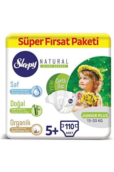 Sleepy Natural Bebek Bezi 5+ Numara Junior Plus Süper Fırsat Paketi 110 Adet