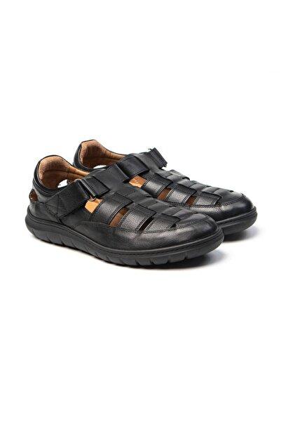 Greyder Erkek Siyah Sandalet 61482