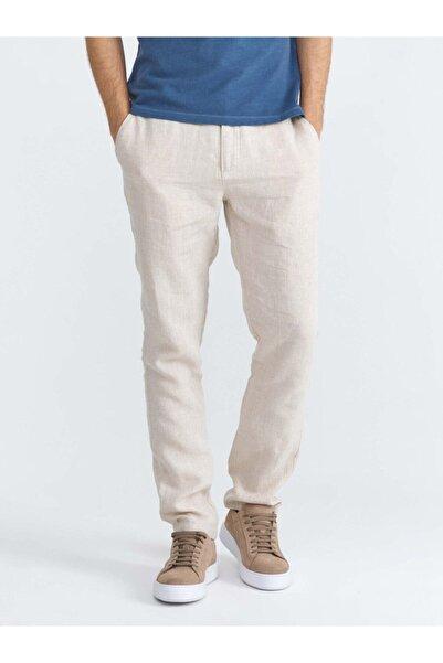 Xint Erkek Keten Slim Fit Pantolon
