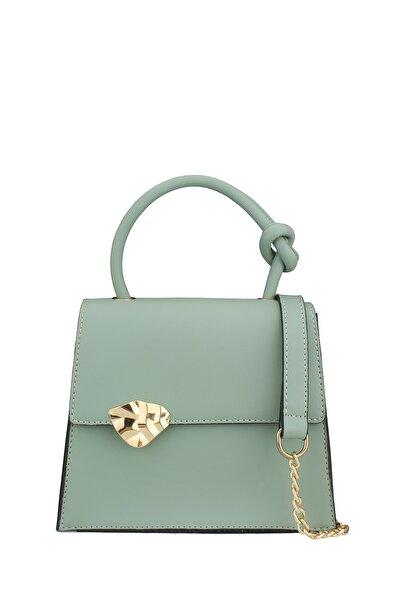 Housebags Kadın Yeşil Düğümlü Çapraz Çanta 191