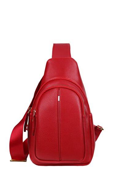 Matmazel Unisex Kırmızı Çapraz Çanta