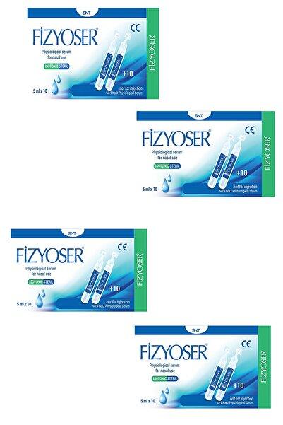 PHYMER Fizyoser Serum Fizyolojik 5 ml x 20 Flakon 4 Kutu