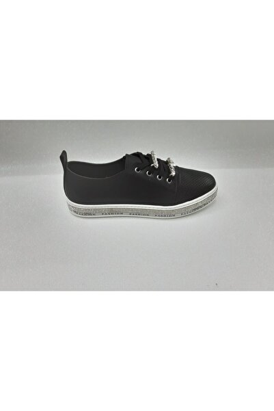 Markopark Kadın Siyah Bağcıklı Ogara Ayakkabı