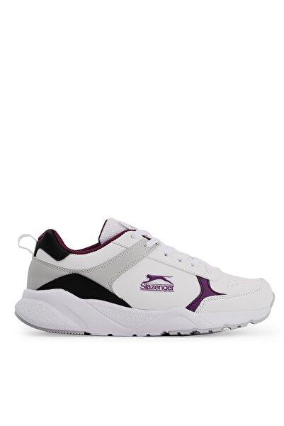 Slazenger Ikarus Koşu & Yürüyüş Kadın Ayakkabı Beyaz / Mor