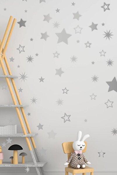 MSticker Yıldız Duvar Sticker 3-4-5 cm 150 Adet