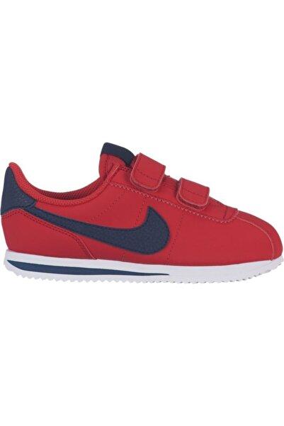 Nike Çocuk Kırmızı  Nıke Cortez Basıc Sl (psv) Spor Ayakkabı 904767-600