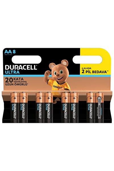 Duracell TURBO MAX AA 6+2 KALEM PİL 8Lİ (12)