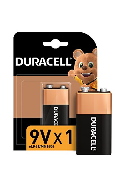 Duracell Alkalin 9 Volt Pil Ikili Paket