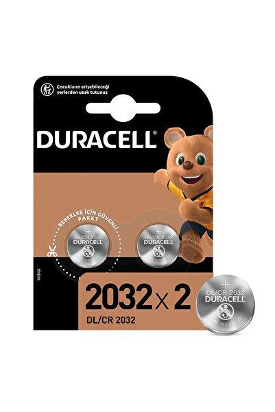 Duracell 2'li Lithium 3V Pil Cr2032