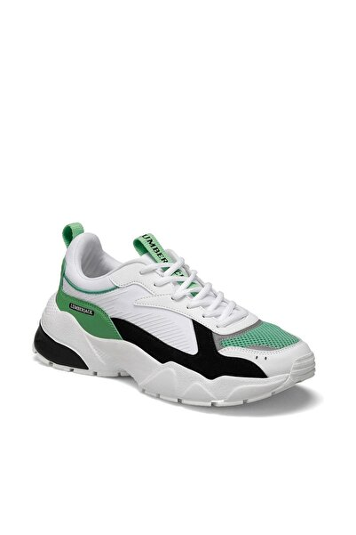 lumberjack Beyaz Yeşil Erkek Sneaker