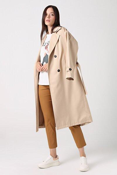 Gusto Kadın Camel Sihirli Pantolon 20YG001101
