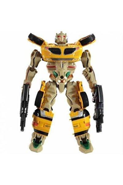 Vardem Transformers Işıklı Ve Sesli Arabaya Dönüşen Robot 24 Cm