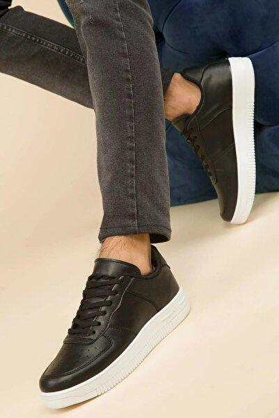 Unisex Siyah Sneaker Ayakkabı D-00002
