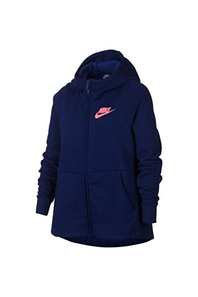 Nike Nıke G Nsw Hoodıe Fz Pe Kız Çocuk Ceket 939459-479