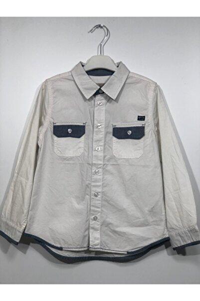 Kanz Erkek Çocuk Beyaz Gömlek 171-3453