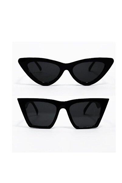 modaisleri Kadın Siyah Güneş Gözlüğü 2'li