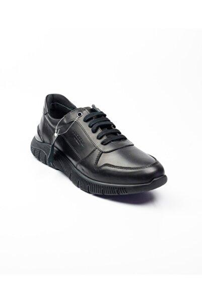 Dockers By Gerli 229025 Siyah Deri Erkek Günlük Ayakkabı Siyah-41