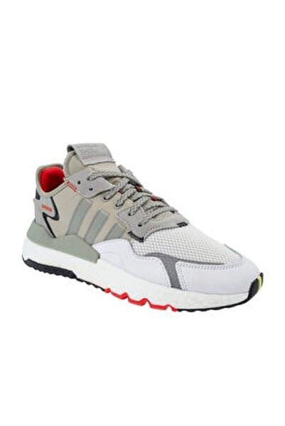 Erkek Gri Bağcıklı Spor Ayakkabı ef5409