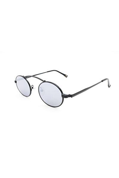 Franco Kadın Siyah Güneş Gözlüğü Vital Isıs Blk-slv 47 Ekartman