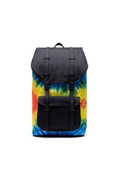 Herschel Supply Co. Herschel Sırt Çantası Little America Rainbow Tie Dye