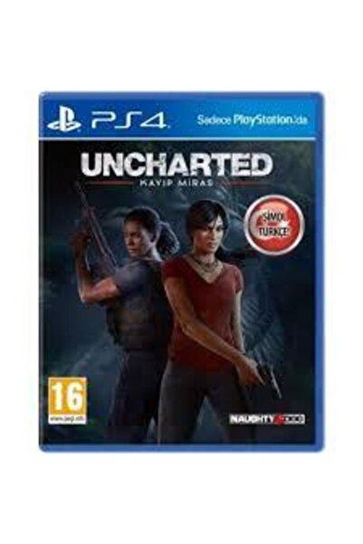 Sony Uncharted Kayıp Miras Türkçe Dublaj Sıfır Ps4 Oyun