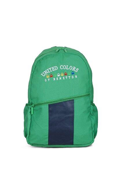 United Colors of Benetton Unisex Benetton Ön Cepli Sırt Çantası 70058