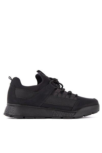 Slazenger Zeber Koşu & Yürüyüş Kadın Ayakkabı Siyah Nubuk