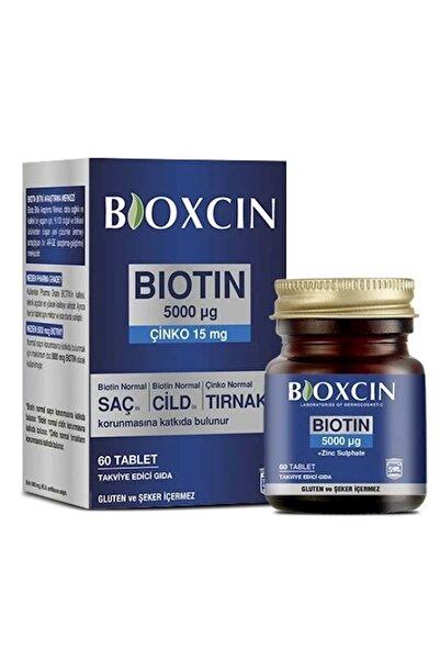Biotin 5000 Mcg Ve Çinko 15 Mg 60 Tablet