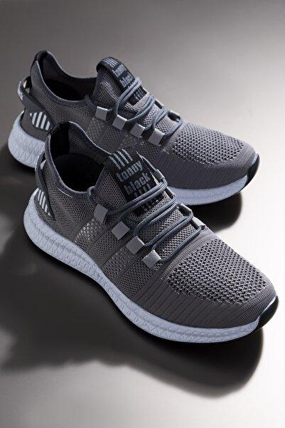 Tonny Black Unısex Gri Spor Ayakkabı