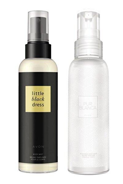 AVON Kadın Little Black Dress Ve Pur Blanca  Vücut Spreyi Paketi