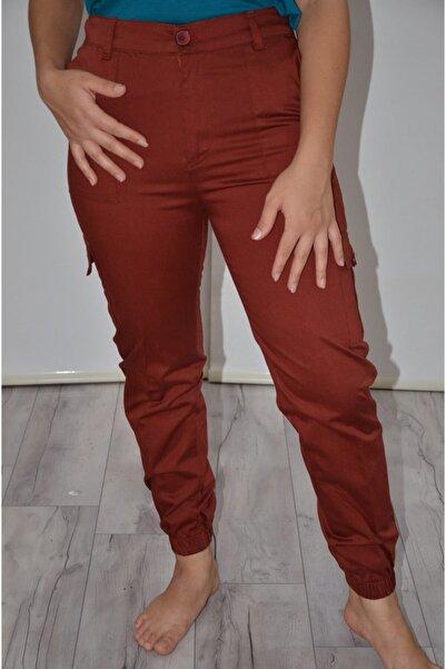 zeynep Kadın Tarçın Kargo Pantolon