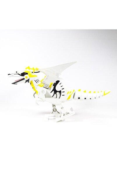 Oyuncak Filesi Dinozor 30 cm Sevimli Dinozorlar Yürüyen Sesli Işıklı Kutulu