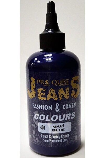 PROQURE Jean Color Boya Mavi 250 Ml