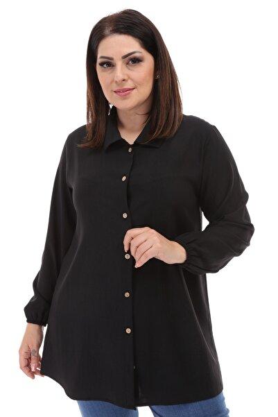NEW WORLD Büyük Beden Kadın Gömlek (yeni Ürün)