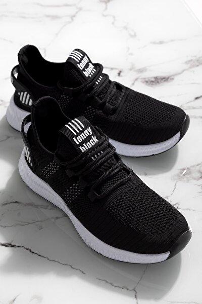 Tonny Black Unısex Siyah Spor Ayakkabı
