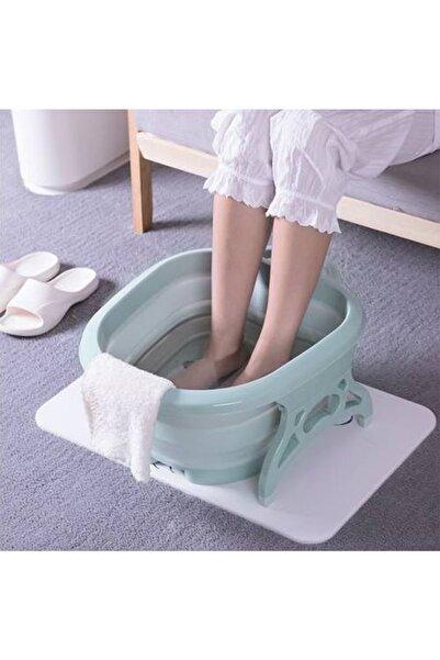 CDD Katlanabilir Portatif 4 Masaj Toplu Yorgun Ayak Banyosu Küveti