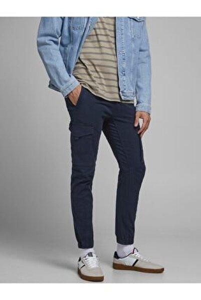 Erkek Lacivert Kargo Pantolon