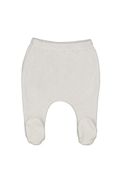 İDİL BABY Unisex Çouck Beyaz Patikli Pantolon 14118