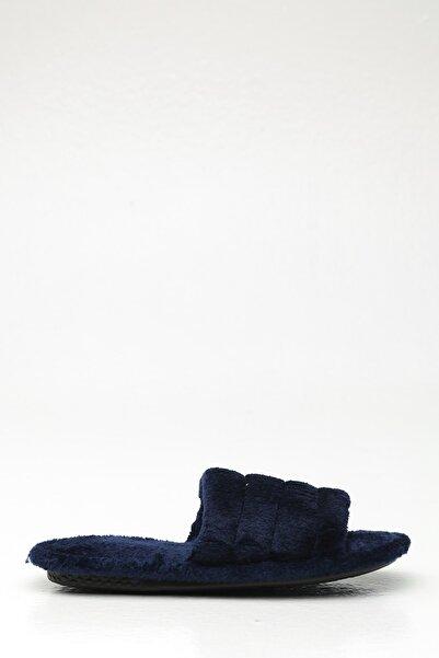 Violetta Shoes Kadın Lacivert Ev Terliği