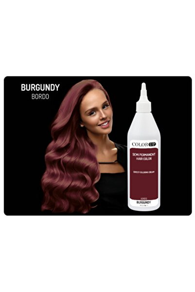 color up Colorup Bordo Yarı Kalıcı Saç Boyası 236ml